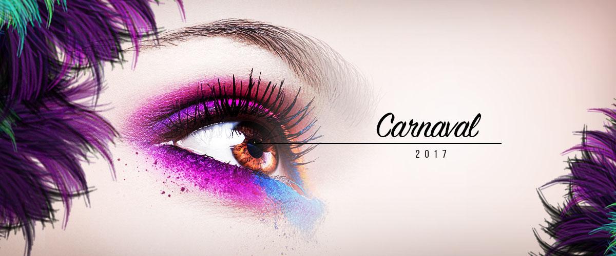 Lentes no Carnaval