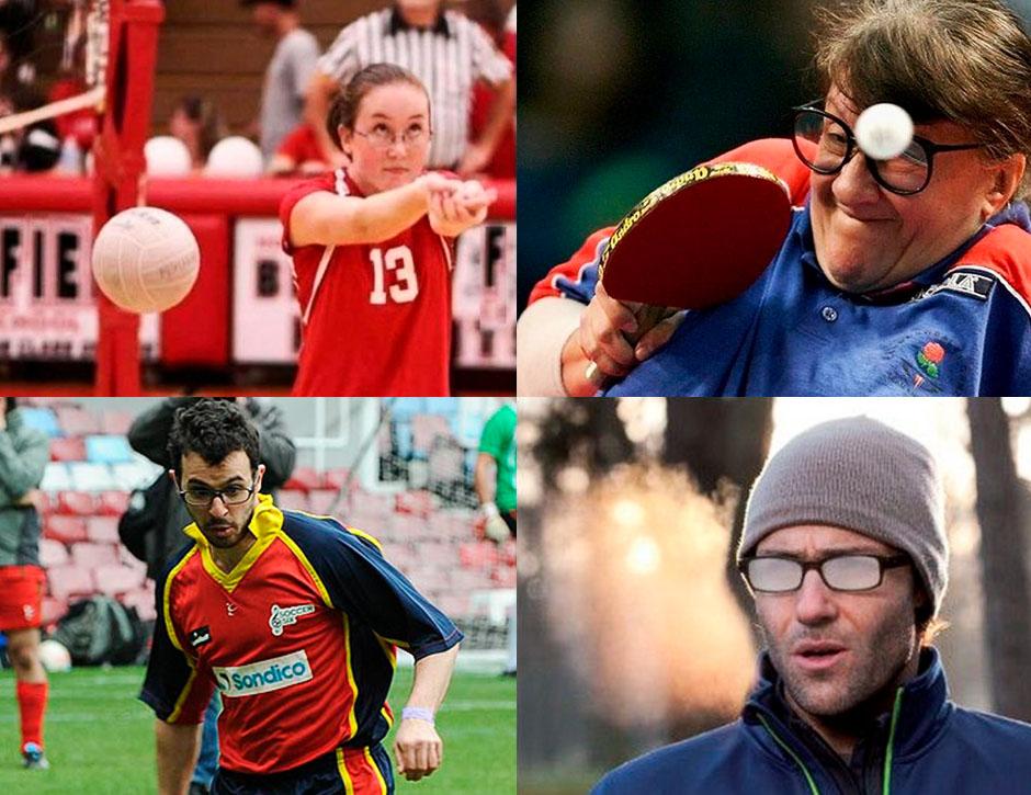 usar lentes de contato durante a pratica dos esportes