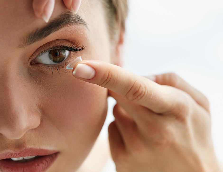 lentes de contato diário