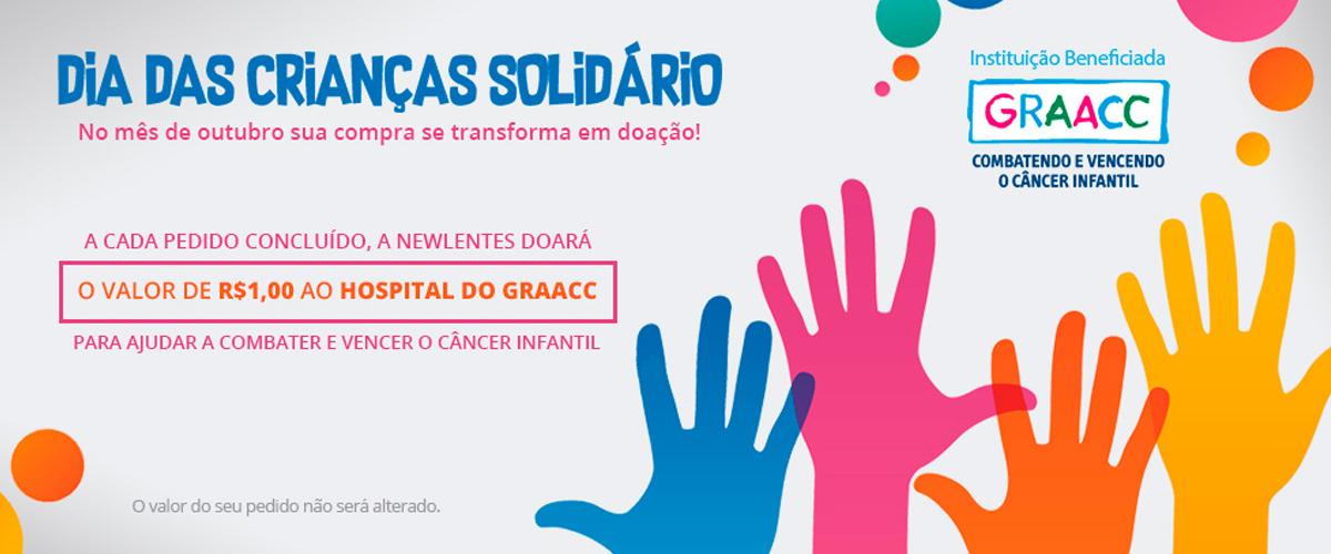 dia da criança solidário GRAACC