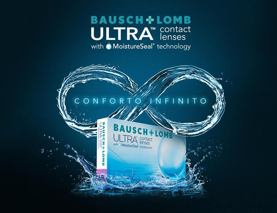 Lentes de contacto ULTRA® Bausch + Lomb