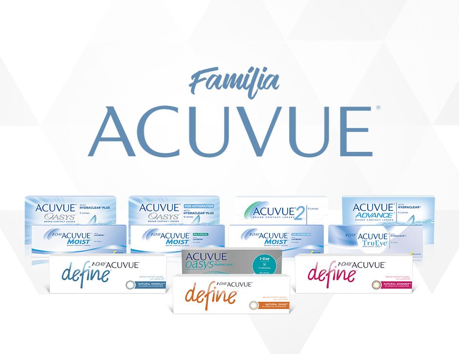 Lentes de contato Acuvue