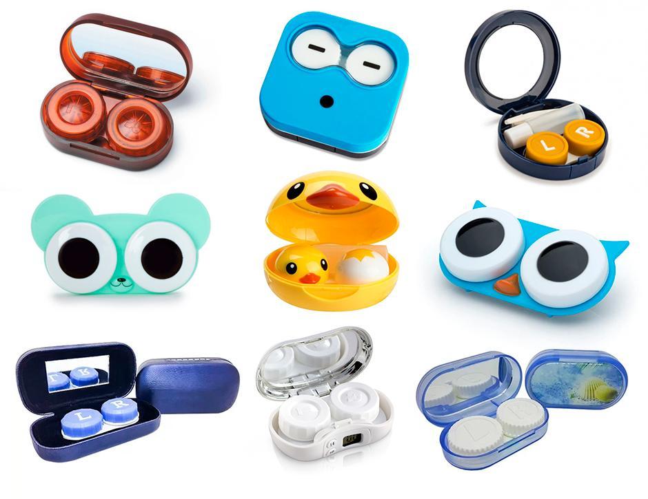 modelos de estojos de lentes de contato