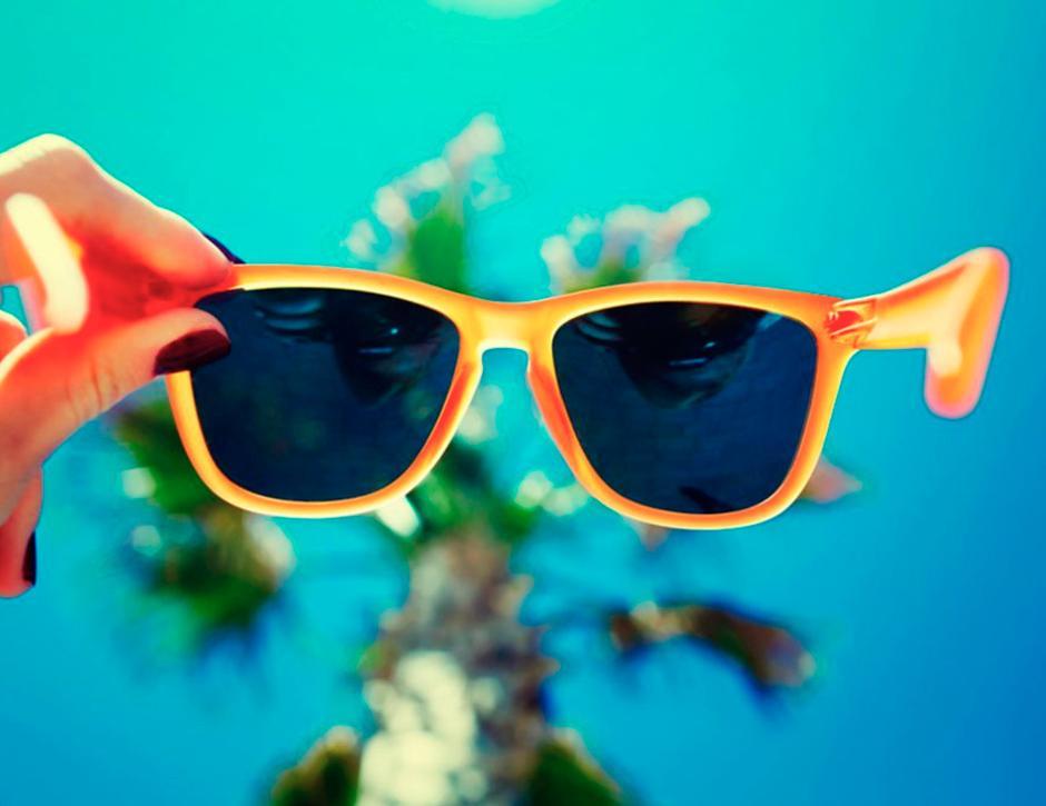 óculos de sol e férias