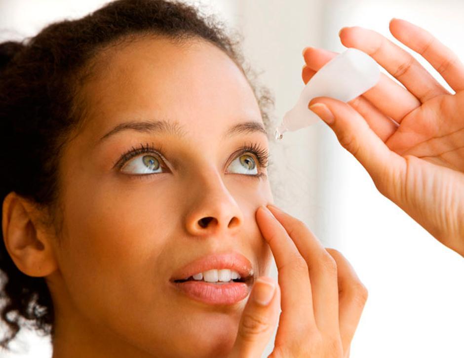 hidratação dos olhos