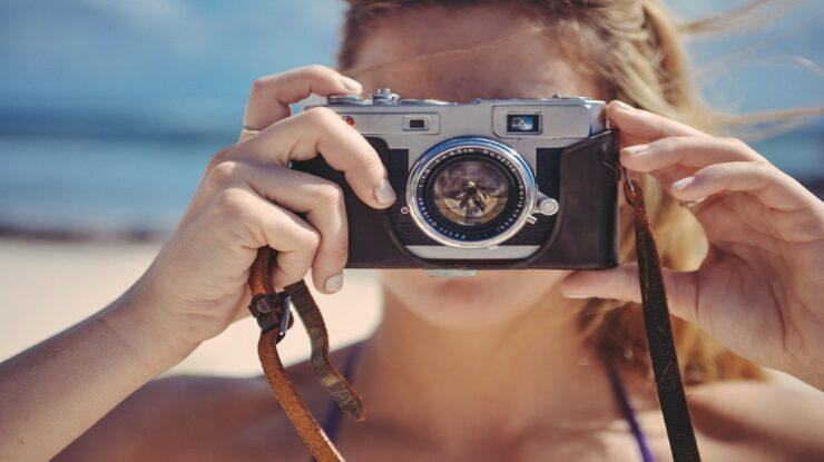 olho humano e câmera fotográfica