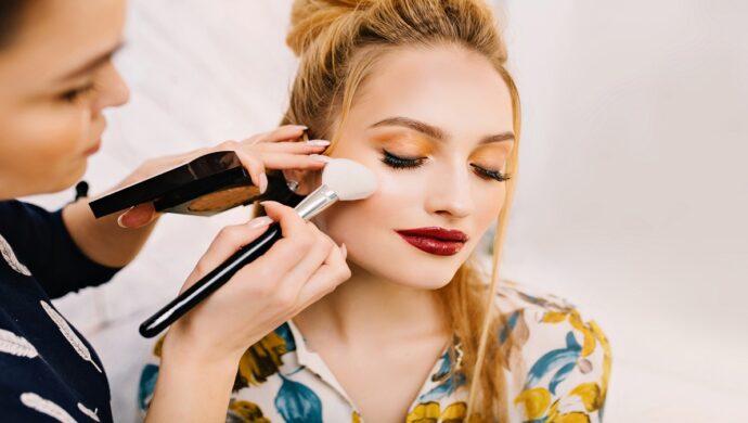 evolução da maquiagem