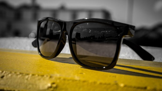 óculos de sol falsificados