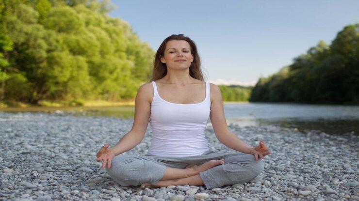 yoga para olhos
