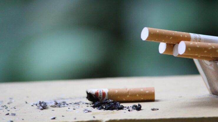 Fumaça do cigarro