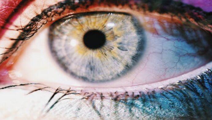 veia do olho