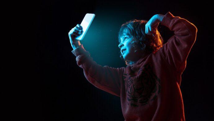 Luminosidade do celular