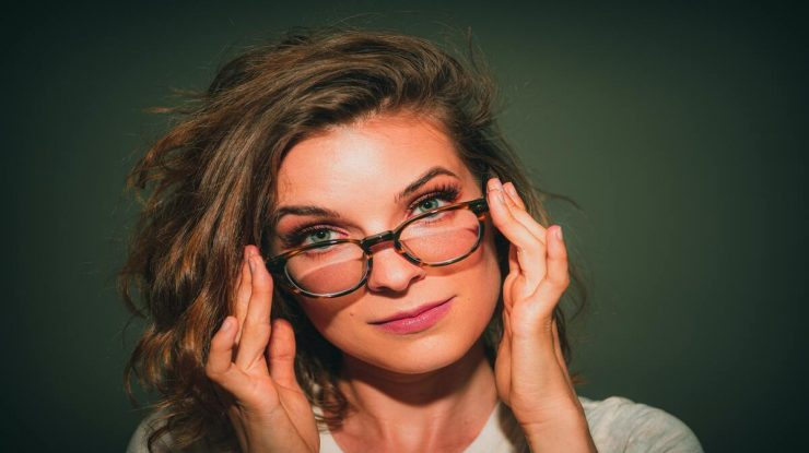 óculos de grau estilosos