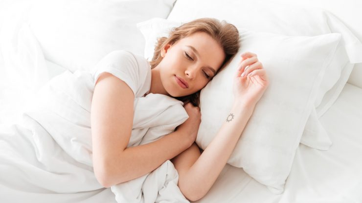 dormir com lente