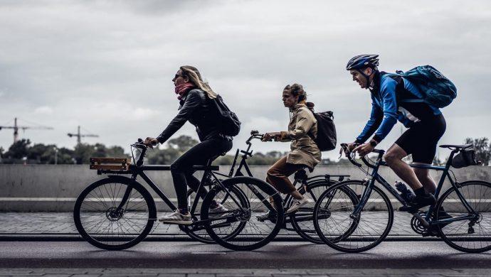 visão para os ciclistas