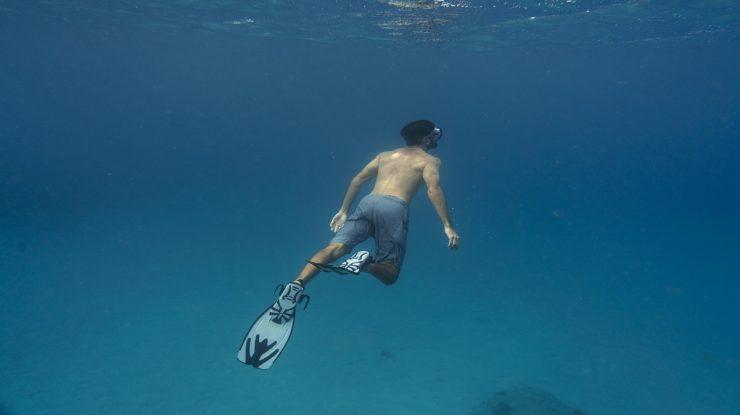 saúde ocular para mergulhadores