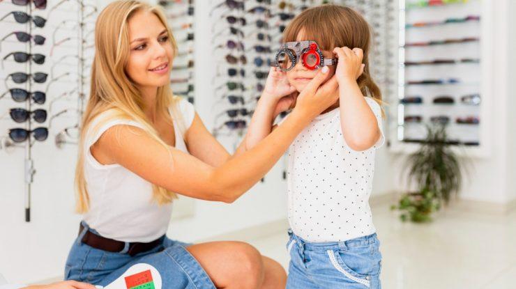 Saúde ocular infantil